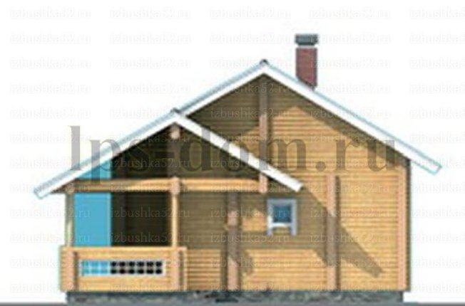 Каркасный дом с антресолью своими руками